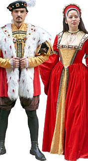 Henry VIII & Anne Boleyn Costumes