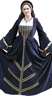 Tudor Woman Costume