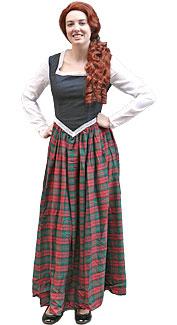Scottish Woman Costume