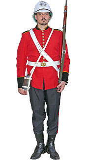 Victorian Redcoat Costume