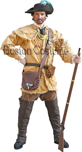 18th Century Colonial Rifleman Costume At Boston Costume