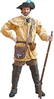 18th Century/Colonial Rifleman Costume