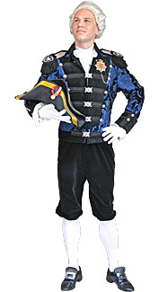 18th Century Admiral Costume