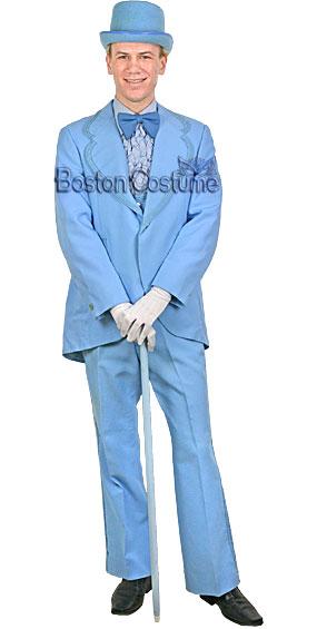 Deluxe Powder Blue Tuxedo Costume