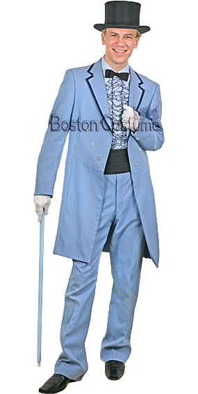 Powder Blue Tuxedo Costume