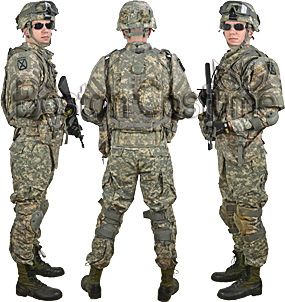 U.S. Army Combat Soldier Costume