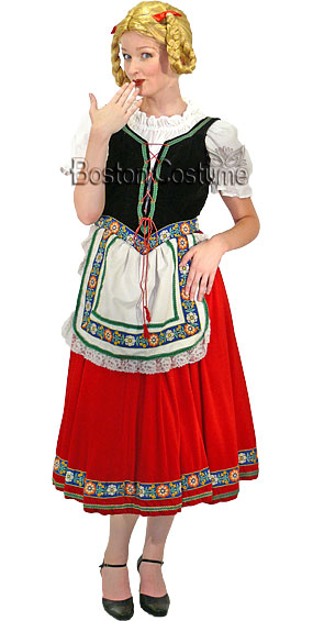 Bavarian Woman Costume