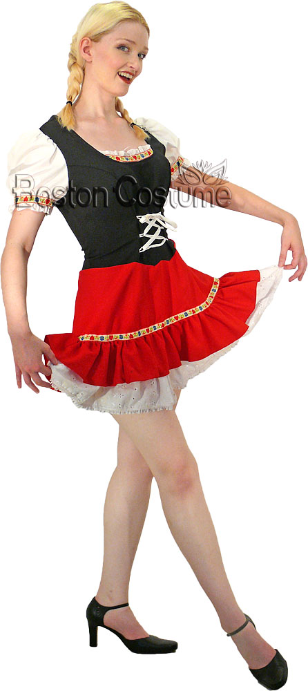 Bavarian Woman Costume At Boston Costume