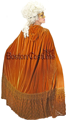 Hooded Cape Back