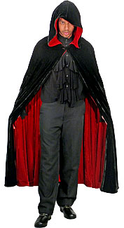Hooded Reversible Cape