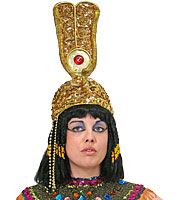 Egyptian Double Feathers Crown