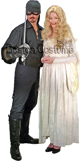 Masked Pirate & Storybook Princess Costumes