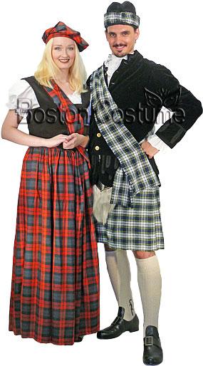 Scottish Couple Costumes
