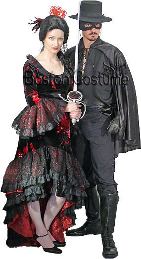 Masked Bandit & Señorita Costumes