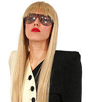 Lacey Long Pageboy Wig in Blonde